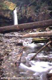 IRON CREEK falls - gifford pinchot national forest washington