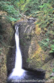 ONEONTA falls columbia river gorge