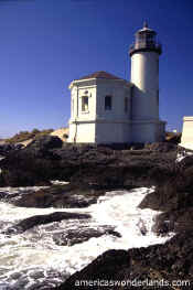 coquille river lighthouse bandon oregon